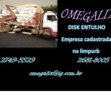 caçambas Omegalix Entulhos Ltda