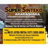 Super Sinteko Araraquara tratamento de pisos