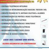 comunicações e interfones
