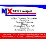 mx Vidros e Locações