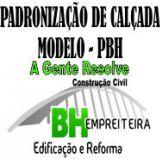 Padronização de Calçada Modelo PBH