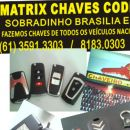 Chaveiro Matrix Chaves Codificadas
