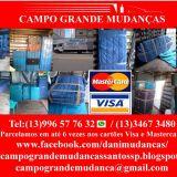 Campo Grande Mudanças Santos SP