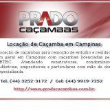 Aluguel de Caçamba de Entulho em Campinas