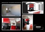 Projeto de interiores sala/cozinha, Pelotas / RS.