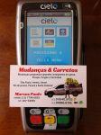 Mudanças e Carretos agora recebe pagamento com cartão de crédito e débito.