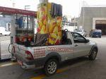 Carretos de máquinas e equipamentos, veículo ágil, entra e sai com facilidade de prédios e áreas com