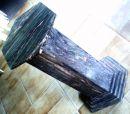 Coluna em Granito Marron