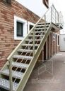 escada reta simples